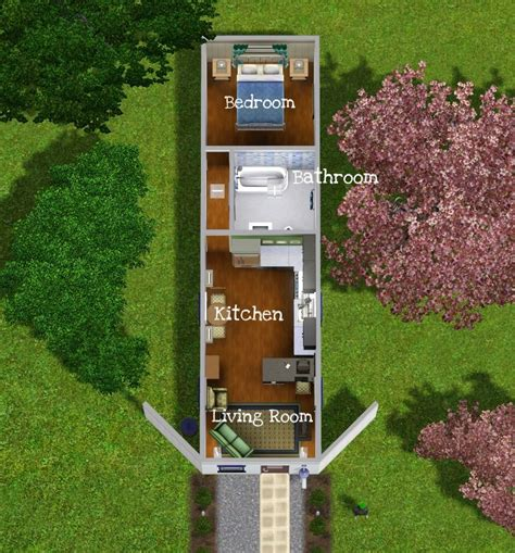 mod the sims a tiny house 3 containerized