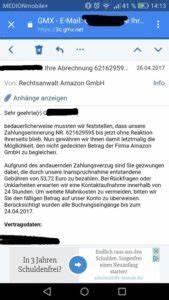 Gmx Rechnung Nicht Bezahlen : amazon inkasso drohung ist ein virus anti spam info ~ Themetempest.com Abrechnung