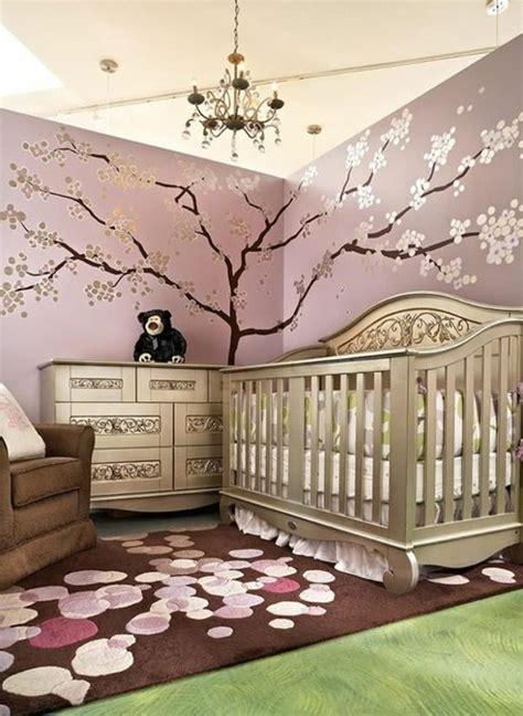 décoration murale chambre bébé fille la peinture chambre bébé 70 idées sympas