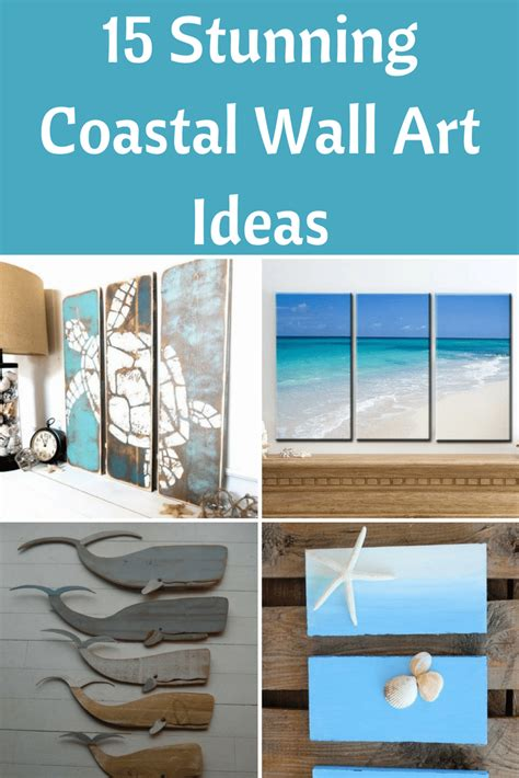 stunning coastal wall art ideas beach bliss living