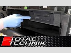 How to Remove CD Changer Glove BoxCompartment Model