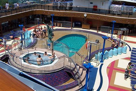 carnival miracle swimming pool    pools