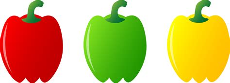 bell pepper clipart three bell peppers free clip