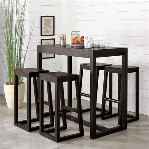 Cheap Kitchen Chairs Set Of 4 by Alto Bar Table Modern Indoor Pub And Bistro Tables