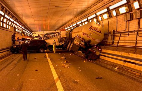 vehicles involved  virginia tunnel crash