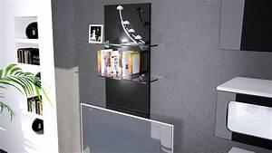 Küchen Wandpaneel Glas : wandregal wandpaneel h ngeregal wandboard glas boden ablage regal faro hochglanz ebay ~ Frokenaadalensverden.com Haus und Dekorationen