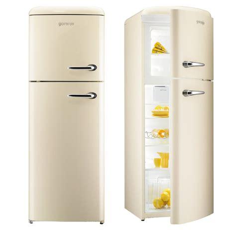Kitchen Island With Drawers - gorenje rf60309 free standing retro fridge freezer appliance house