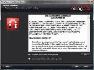 Slingbox Pro-hd  Initial Setup
