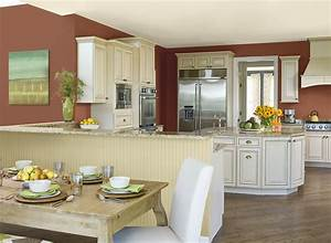 varied kitchen paint color ideas radionigerialagoscom With kitchen colors with white cabinets with art nouveau wall coverings