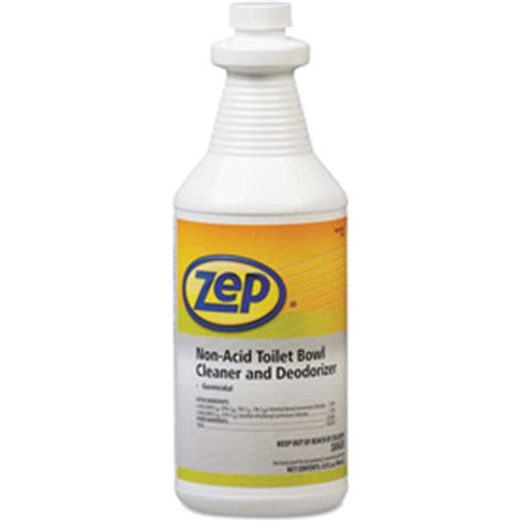 cleaning supplies bathroom cleaners zep 174 toilet bowl cleaner non acid 32oz bottle 12