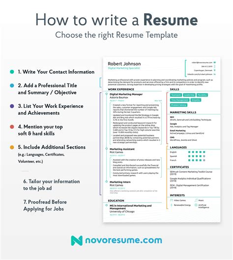 How To Write A Proper Resume Exle by How To Write A Resume 2019 Beginner S Guide Novor 233 Sum 233