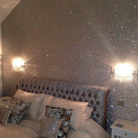 upside  glitter accent wall glitter wallpaper