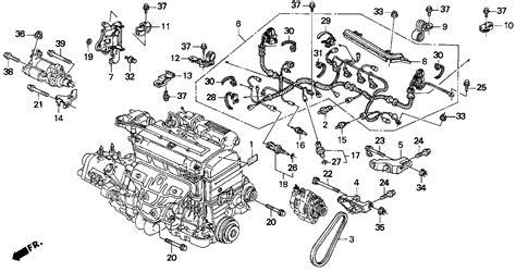 93 honda civic engine wiring diagram get free image