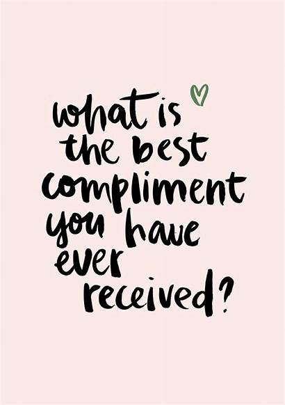 Compliment Quote Quotes Nl Question Een Magazine