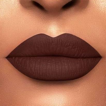 Matte Chocolate Lipstick Brown Dark Lip Colors