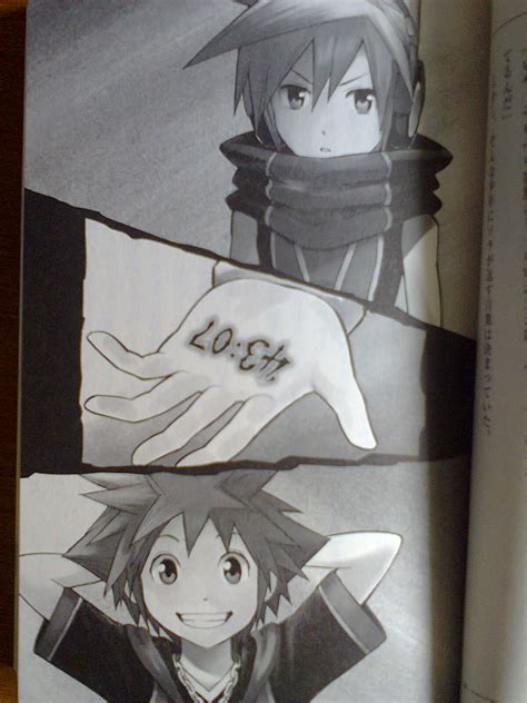 Kh3d Novel Side Sora Illustrations News Kingdom