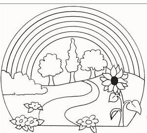 Regenbogen Zum Ausmalen : ausmalbilder regenbogen kostenlos malvorlagen zum ausdrucken ~ Buech-reservation.com Haus und Dekorationen