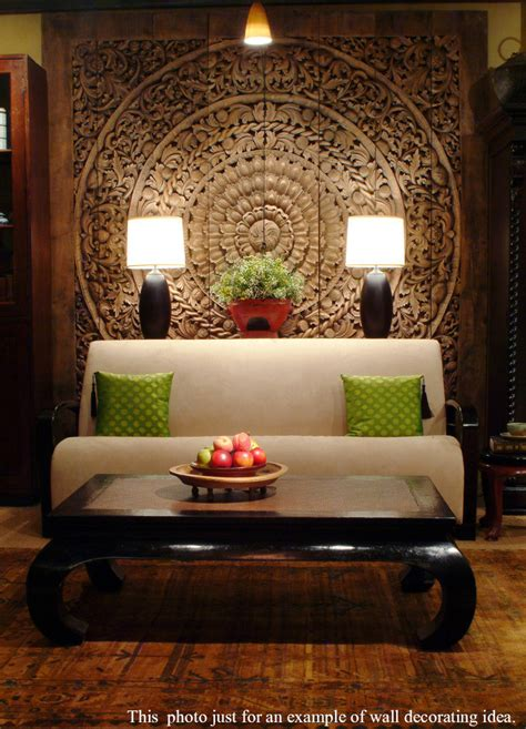 Buy Large Handmade Relief Carving Tropical Home Decor Online