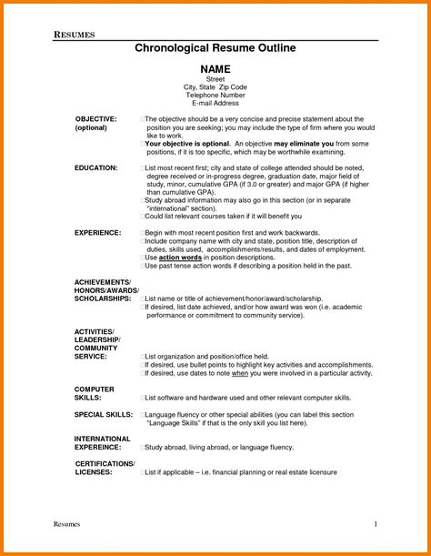 show me resume images show me a resume format