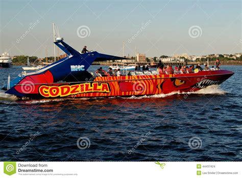 Architecture Boat Tour Boston Ma by Boston Ma Godzilla Touring Boat Editorial Stock Image