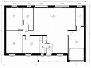 Plan Maison 6 Chambres : plan maison individuelle 3 chambres 21 habitat concept ~ Voncanada.com Idées de Décoration