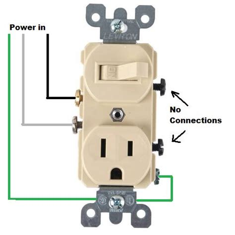 wiring for a switch socket combo doityourself