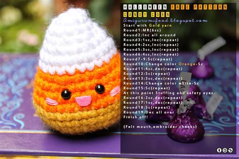 crochet cuisine kawaii free pattern amigurumi food bloglovin 39