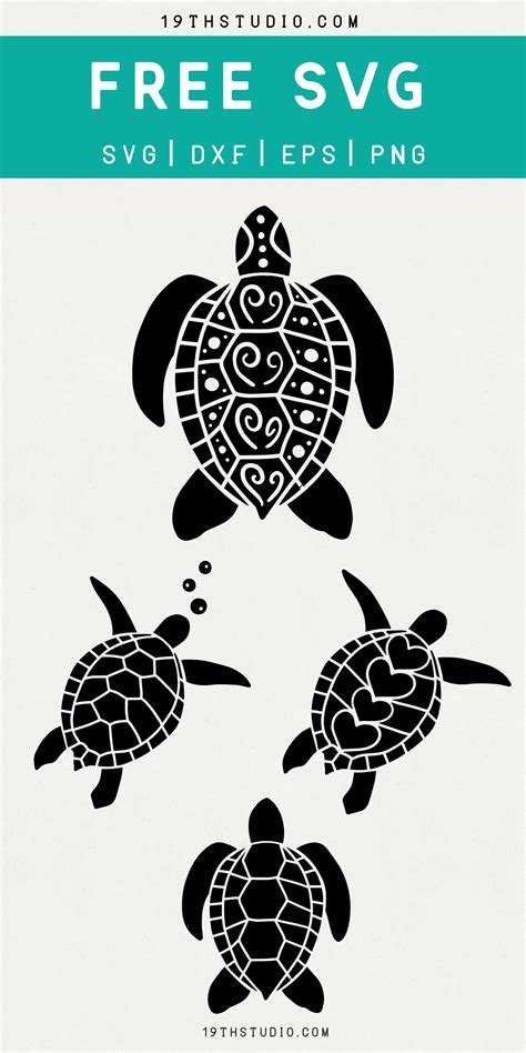 5 out of 5 stars (35) 35 reviews. 16+ Free Turtle Mandala Svg Pictures Free SVG files ...