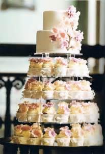 wedding cake and cupcakes cupcake wedding cakes stylish