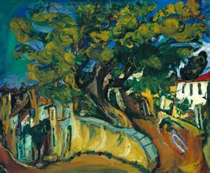 creative paintings on canvas 39 cagnes landscape with tree 39 chaïm soutine tate