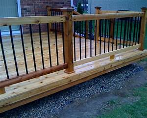 deck railing kits in grande lowes deck railing cable deck With deck building kits lowes