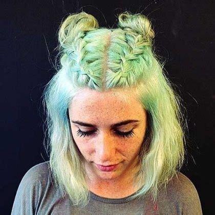 belles idées des coiffures simple et rapides pour cheveux