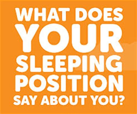 The Meaning Behind Your Sleeping Position