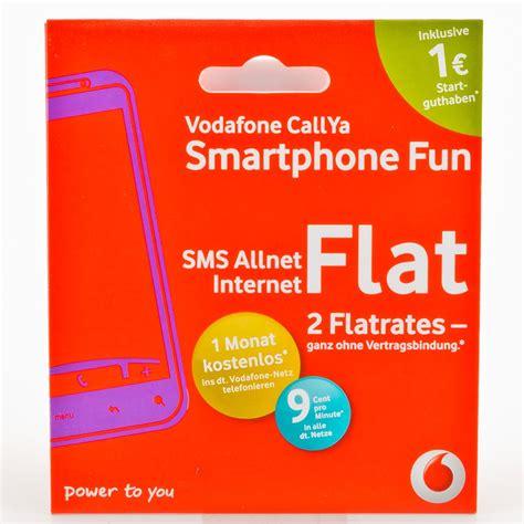 Vodafone Prepaid Sim Karte