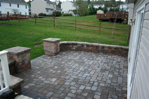 ep henry towne cobble paver patio from willow gates
