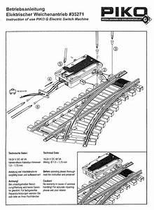 Shourt Line - Soft Works Ltd  - Products - Piko 35271 Electric Switch Machine