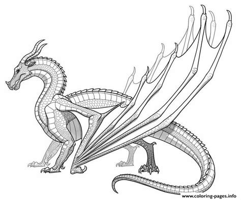 Print Realistic dragon for adults coloring pages in 2019