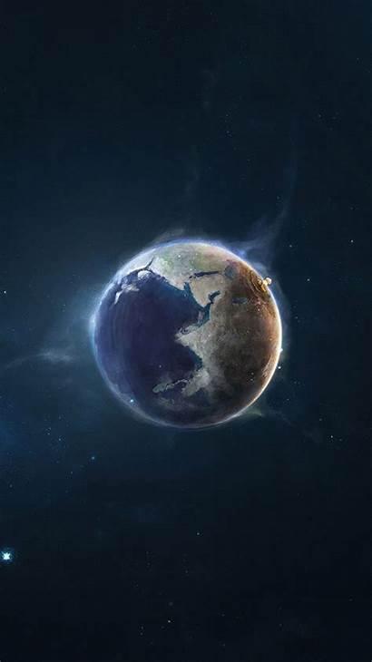 Iphone Space Wallpapers Nuke Plus Earth Desktop