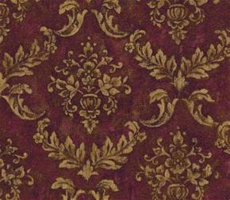 burgundy and gold wallpaper burgundy and gold brocade wallpaper wallpaper border wallpaper inc com