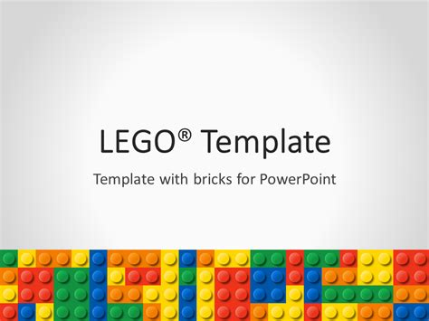 Free Themed Powerpoint Templates by Lego Powerpoint Template