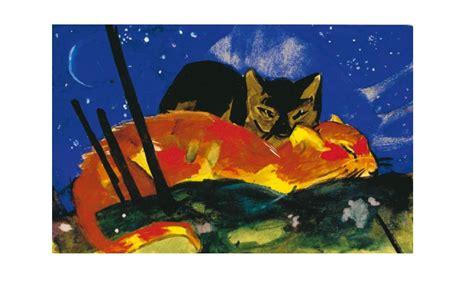 franz marc zwei katzen poster kunstdruck bei germanpostersde