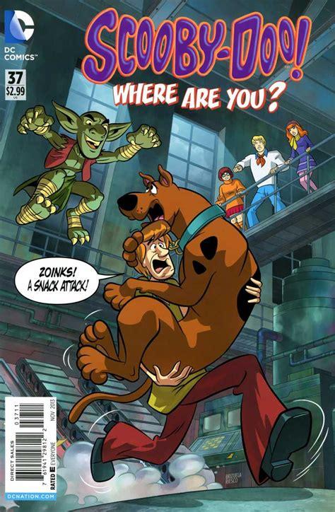 scooby doo    dc comics issue