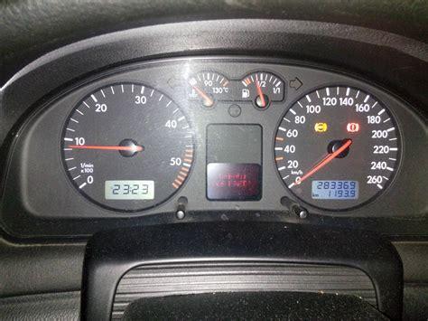 voyant tableau de bord volkswagen passat tdi 115cv defaut frein voyant abs point exclamation volkswagen m 233 canique