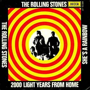 The Rolling Stones - 2000 Light Years From Home/ She's A ...