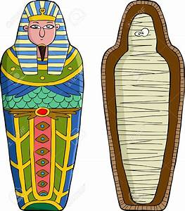 Mummy clipart sarcophagus - Pencil and in color mummy ...