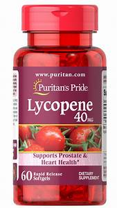 Men U0026 39 S Vitamins  Lycopene 40 Mg