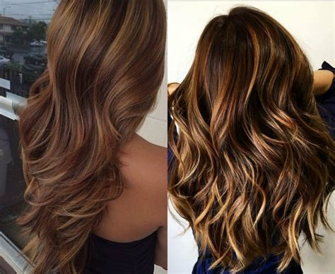 Hair Highlights by Hypnotizing Brown Hair With Highlights Hairdrome