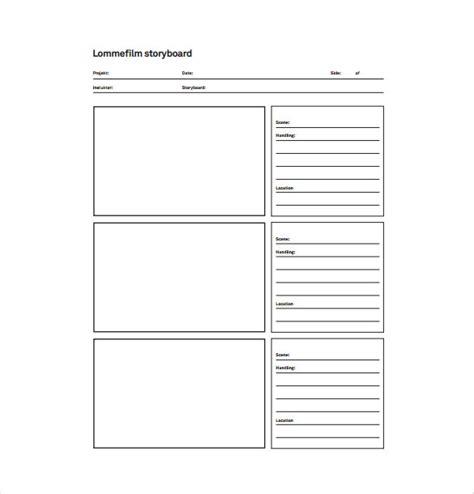 storyboard template pdf 82 storyboard templates pdf ppt doc psd free premium templates