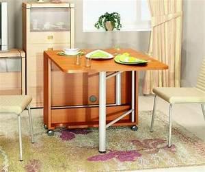 Table Cuisine Moderne : designs cr atifs de table pliante de cuisine ~ Teatrodelosmanantiales.com Idées de Décoration