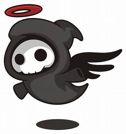 Death Cartoon Angel Reaper Clipart Grim Clip